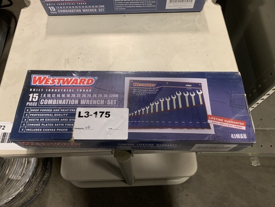 Westward 15pc. Combo Wrench Set