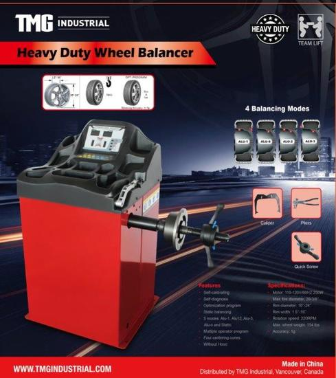 2019 Heavy Duty Wheel Balancer