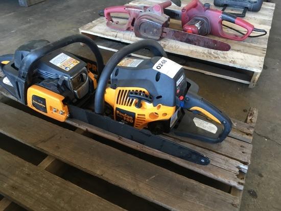 Poulan Pro PP4218A Chain Saws, Qty. 2