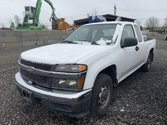 2008 Chevrolet Colorado Extra Cab Pickup