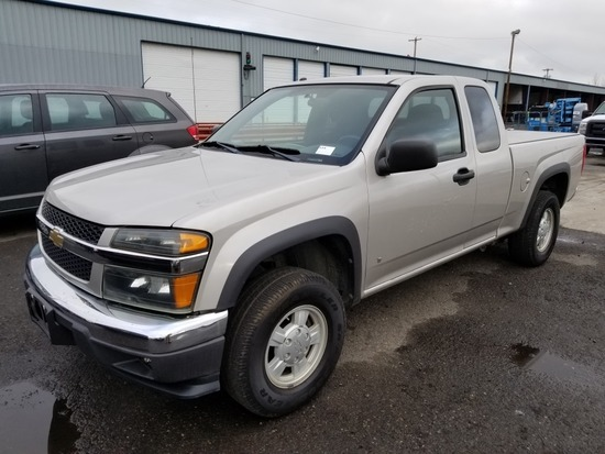 2007 Chevrolet Colorado LT 4x4 Extra Cab Pickup
