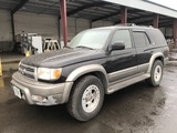 2000 Toyota 4 Runner Limited 4x4 SUV