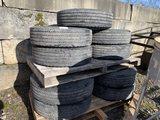 275/70R22.5 Tires, Qty. 9