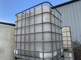 Caged Water Tank