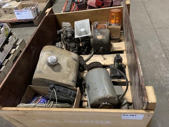 Electric Motor & Outdoor Speaker