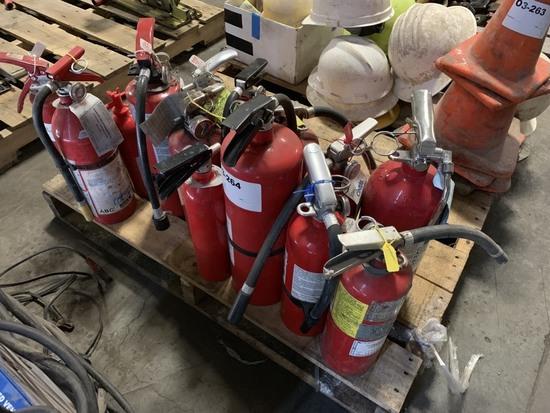 Fire Extinguishers , Qty 14