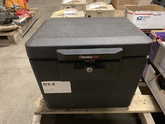 Sentry Safe Locking File Box