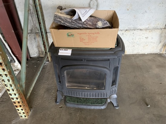 Warnock Hersey Tg440 Gas Fireplace Industrial Machinery