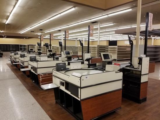 Checkout Stations, Qty. 5