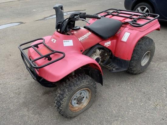 1995 Honda TRX200D ATV