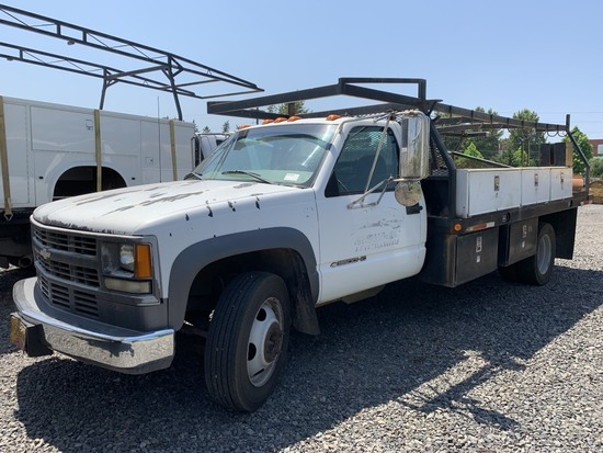 1998 Chevrolet 3500 HD Flatbed Truck
