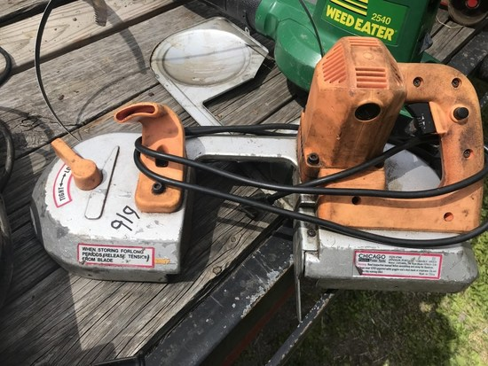 Chicago Electric Porta-Band Band Saw