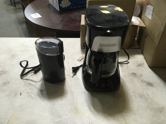 Black & Decker Coffee Makers Qty 3