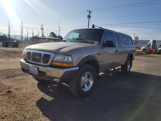 2000 Ford Ranger XLT 4x4 Extra Cab Pickup