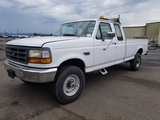 1997 Ford F250 4x4 Extra Cab Pickup