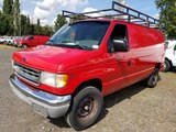 2001 Ford E350 SD Cargo Van