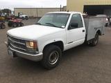 2000 Chevrolet 3500 Utility Truck
