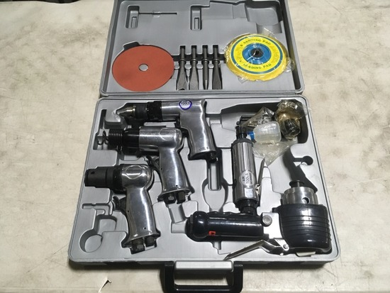 5 pc. Air Tool Set & Accessories