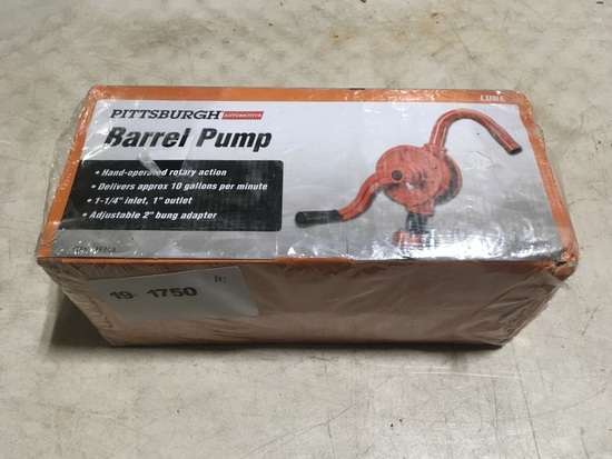 Pittsburgh Barrel Pump