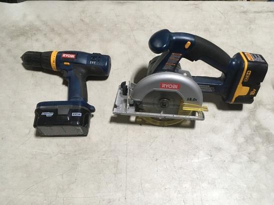 Ryobi 2 pc. Power Tool Set