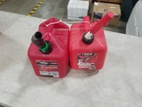 2 Gallon Gas Cans Qty 2