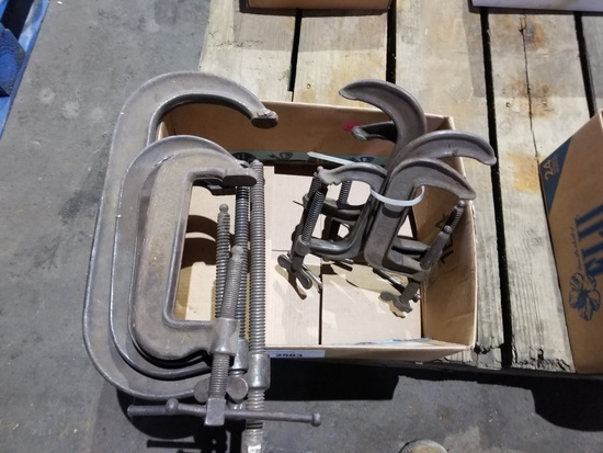 C-Clamps Qty 8