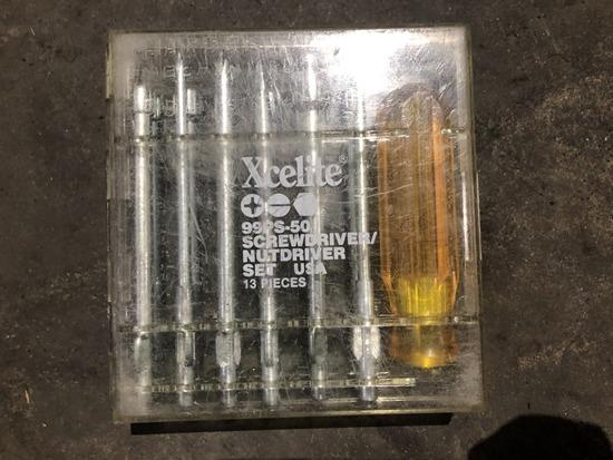 Xcelite 99PS-50 Screwdriver Sets Qty 13