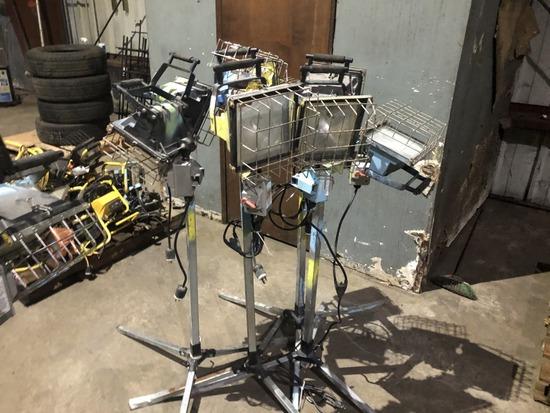 500 Watt Dual Light Work Lights Qty 4