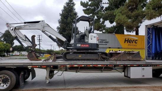 2016 Bobcat E50 Mini Hydraulic Excavator