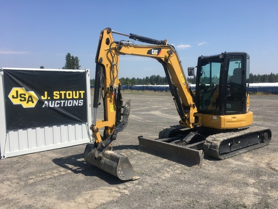2017 Caterpillar 305E2CR CR Mini Hydraulic Excavat