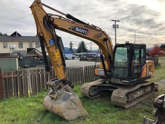 2018 Sany 135C Mini Hydraulic Excavator