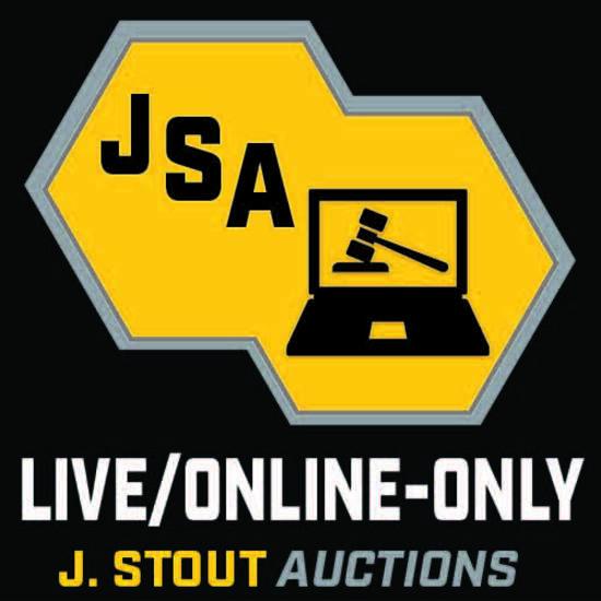 J. Stout Auctions Public Live Online Only Auction