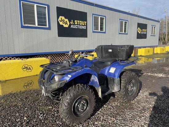 2014 Yamaha 450 4x4 ATV