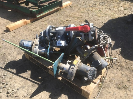 Neptune Gear Drive Mixers, Qty. 3