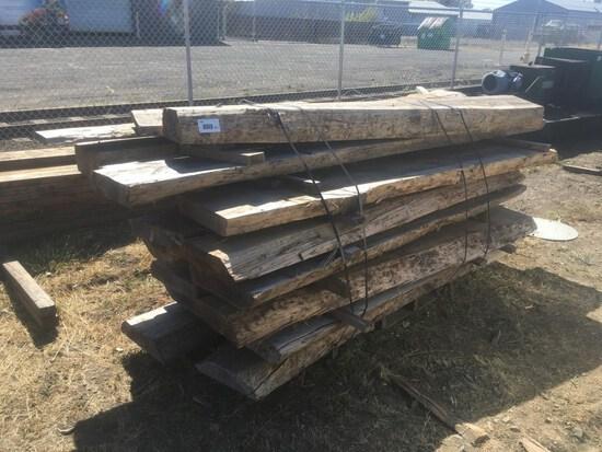 Wood Timbers, Qty. 17