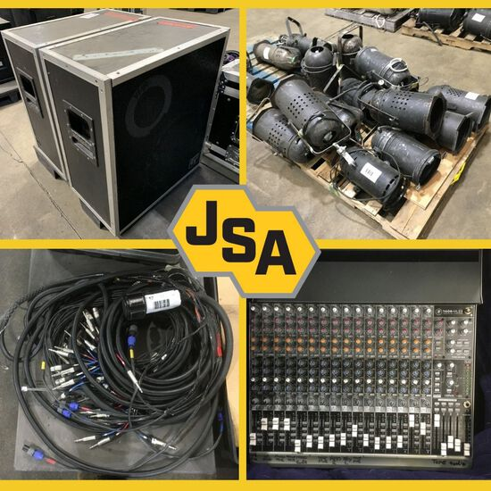 Stage Equipment & Government Surplus Electronics