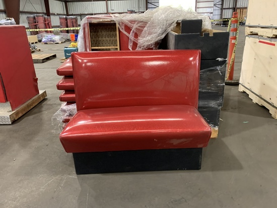 Booth Bench Seats, Qty. 7