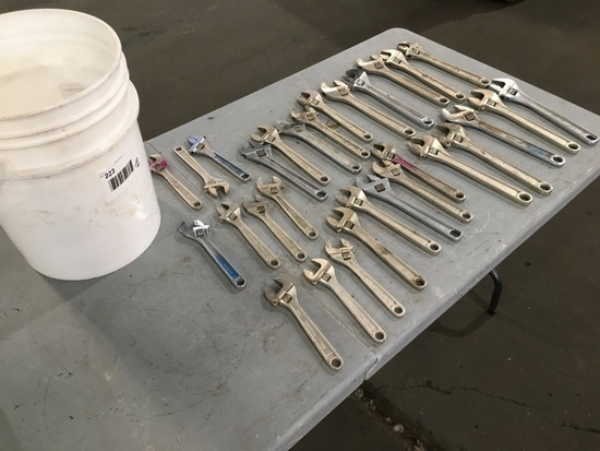 Proto & Stanley Crescent Wrenches