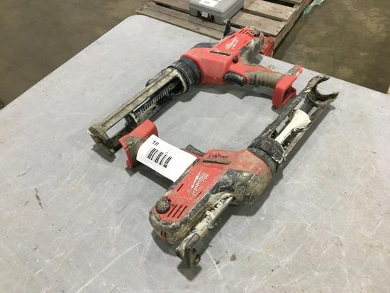 Milwaukee Caulk/Adhesieve Guns