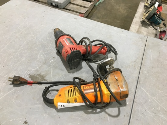 Milwaukee & DeWalt Power Tools