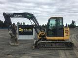 2014 John Deere 85D Hydraulic Excavator
