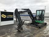 2014 John Deere 50G Mini Hydraulic Excavator