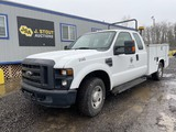2008 Ford F250 XL SD Extra Cab Utility Truck