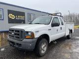 2005 Ford F250 XL SD 4x4 Extra Cab Utility Truck