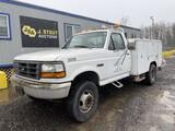 1996 Ford F Super Duty Utility Truck