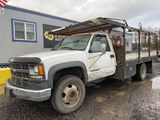 2000 Chevrolet 3500 HD Flatbed Truck