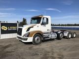 2009 Volvo VNL Tri-Axle Truck Tractor