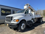 2001 Ford F650 XL SD S/A Auger Truck