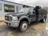 2006 Ford F550 XL SD Service Truck