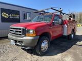 2001 Ford F450 XL SD Utility Truck